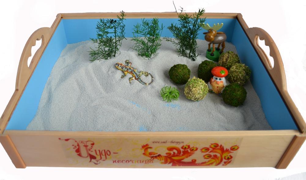 Песочница для рисования песком своими руками